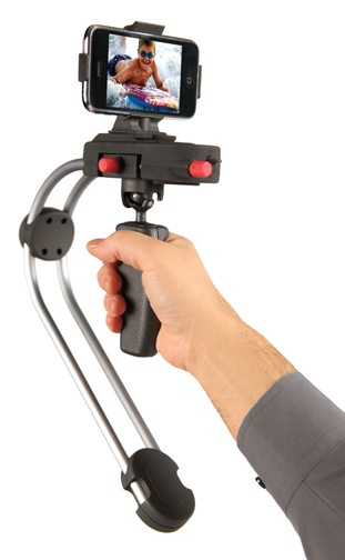 Smoothee, a steadicam attachment for the iPhone 3Gs